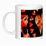 Love Heart Splatter Night Luminous Mug