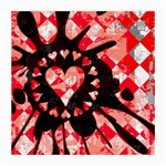 Love Heart Splatter Glasses Cloth (Medium)