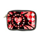 Love Heart Splatter Coin Purse