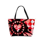 Love Heart Splatter Classic Shoulder Handbag