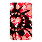 Love Heart Splatter Memory Card Reader (Rectangular)