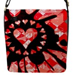 Love Heart Splatter Removable Flap Cover (Small)
