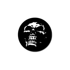 Morbid Skull Golf Ball Marker (4 pack) from ArtsNow.com Front