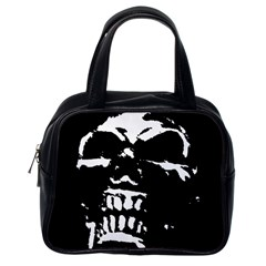 Morbid Skull Classic Handbag (One Side) from ArtsNow.com Front