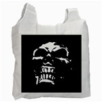 Morbid Skull Recycle Bag (One Side)