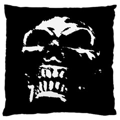 Morbid Skull Large Cushion Case (One Side) from ArtsNow.com Front
