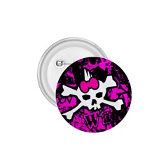 Punk Skull Princess 1.75  Button from ArtsNow.com Front