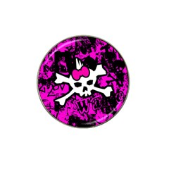 Punk Skull Princess Hat Clip Ball Marker (10 pack) from ArtsNow.com Front