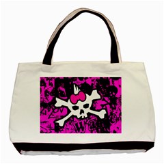 Punk Skull Princess Classic Tote Bag from ArtsNow.com Front
