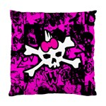Punk Skull Princess Cushion Case (Two Sides)