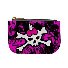 Punk Skull Princess Mini Coin Purse from ArtsNow.com Front