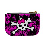 Punk Skull Princess Mini Coin Purse from ArtsNow.com Back
