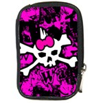 Punk Skull Princess Compact Camera Leather Case