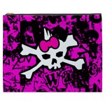 Punk Skull Princess Cosmetic Bag (XXXL) from ArtsNow.com Front