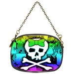 Rainbow Skull Chain Purse (Two Sides)