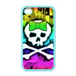 Rainbow Skull Apple iPhone 4 Case (Color)