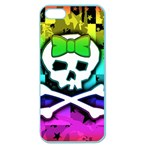 Rainbow Skull Apple Seamless iPhone 5 Case (Color)