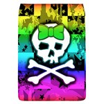 Rainbow Skull Removable Flap Cover (Large)