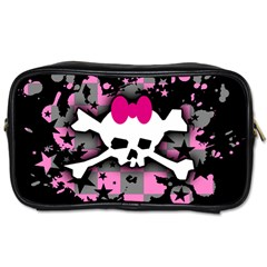 Scene Skull Splatter Toiletries Bag (One Side) from ArtsNow.com Front