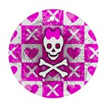 Skull Princess Ornament (Round)