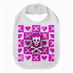 Skull Princess Bib
