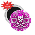Skull Princess 2.25  Magnet (100 pack)