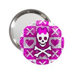 Skull Princess 2.25  Handbag Mirror