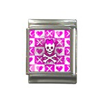 Skull Princess Italian Charm (13mm)