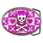 Skull Princess Belt Buckle