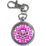 Skull Princess Key Chain Watch