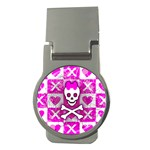 Skull Princess Money Clip (Round)