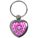 Skull Princess Key Chain (Heart)