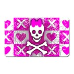 Skull Princess Magnet (Rectangular)