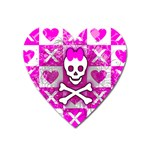 Skull Princess Magnet (Heart)