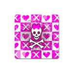 Skull Princess Magnet (Square)