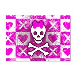 Skull Princess Sticker A4 (10 pack)
