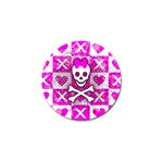 Skull Princess Golf Ball Marker