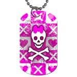 Skull Princess Dog Tag (Two Sides)