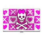 Skull Princess Business Card Holder