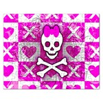 Skull Princess Jigsaw Puzzle (Rectangular)