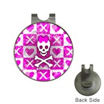 Skull Princess Golf Ball Marker Hat Clip