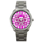 Skull Princess Sport Metal Watch