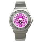 Skull Princess Stainless Steel Watch