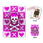 Skull Princess Playing Cards Single Design