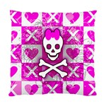 Skull Princess Cushion Case (Two Sides)