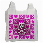 Skull Princess Recycle Bag (Two Side)
