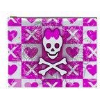 Skull Princess Cosmetic Bag (XL)
