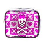 Skull Princess Mini Toiletries Bag (One Side)