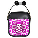 Skull Princess Girls Sling Bag