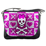 Skull Princess Messenger Bag